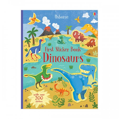 First Sticker Book Dinosaurs (Paperback, 영국판)