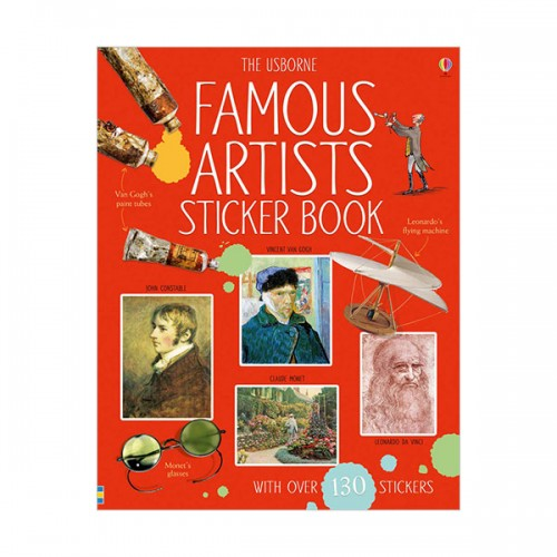 Famous Artists Sticker Book (Paperback, 영국판)