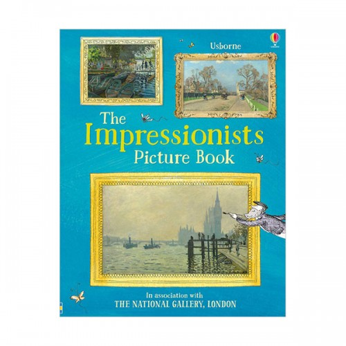 Impressionists Sticker Book (Paperback, 영국판)
