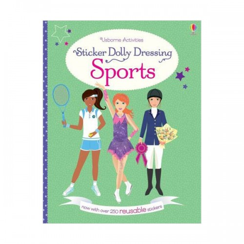 Sticker Dolly Dressing Sports (Paperback, 영국판)
