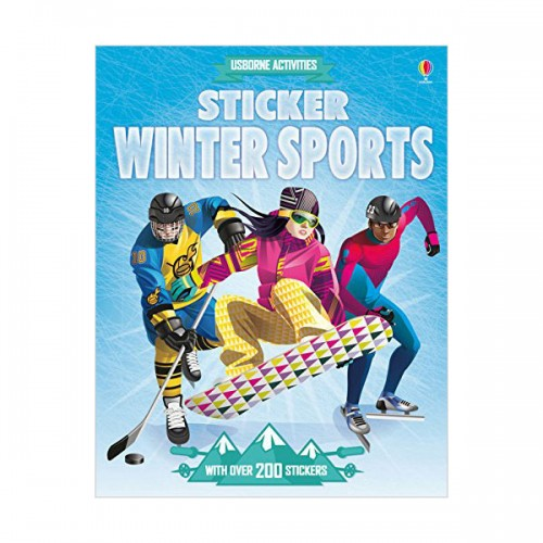 Sticker Dressing Winter Sports (Paperback, 영국판)