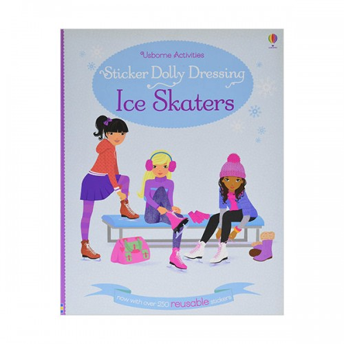 Sticker Dolly Dressing Ice Skaters (Paperback, 영국판)