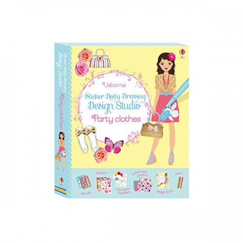 Sticker Dolly Dressing Design Studio Party Clothes (Paperback, 영국판)