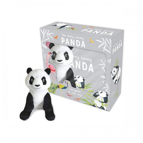 The Only Lonely Panda - Storybook and Soft Toy (Book & Toy, 영국판)