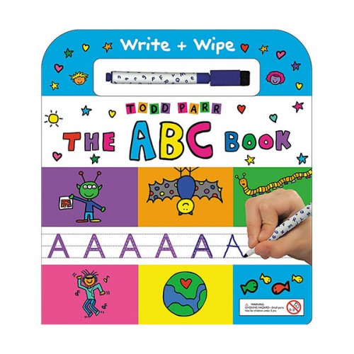 The ABC Book : Write + Wipe (Board book)