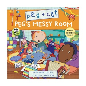 Peg + Cat : Peg's Messy Room (Paperback)
