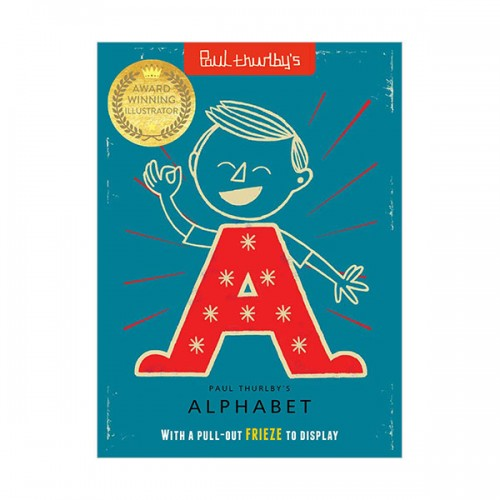 Paul Thurlby's Alphabet : With a pull-out FRIEZE to display (Paperback, 영국판)