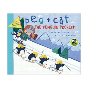 Peg + Cat : The Penguin Problem (Paperback)