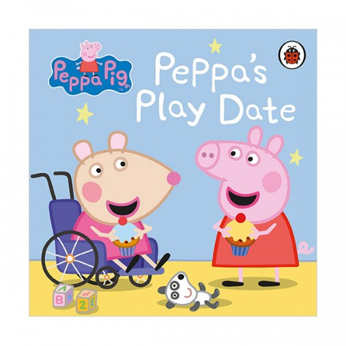 Peppa Pig : Peppa's Play Date (Board book, 영국판)