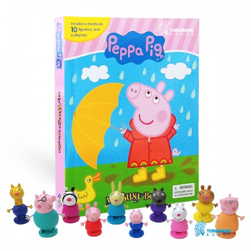 [베스트★2020] My Busy Books : Peppa Pig (Board book+Figures)