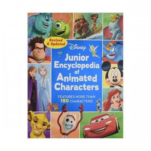 Junior Encyclopedia of Animated Characters (Hardcover)