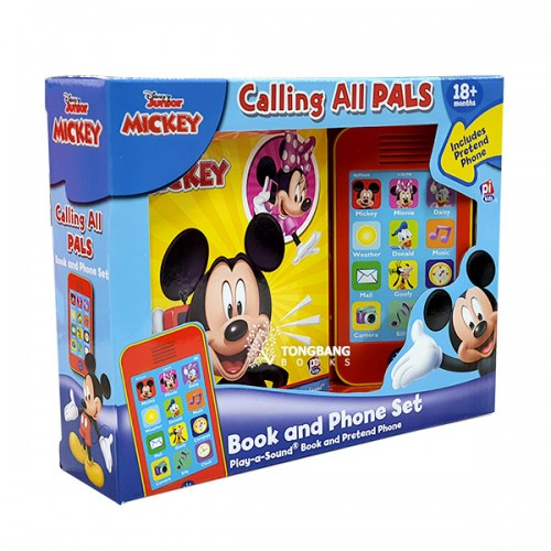 Disney Mickey Mouse Clubhouse: Calling All Pals: Book and Phone Set (Sound Board Book)