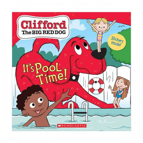 Clifford the Big Red Dog Storybook : It's Pool Time! (Paperback)