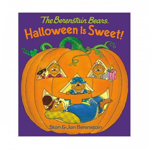 The Berenstain Bears :  Halloween is Sweet (Board book)