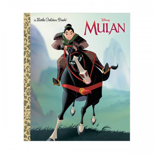 Disney Princess Mulan Little Golden Book (Hardcover)