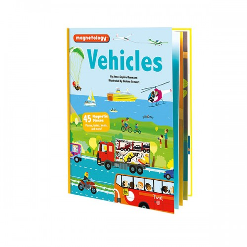 Magnetology : Vehicles (Hardcover)