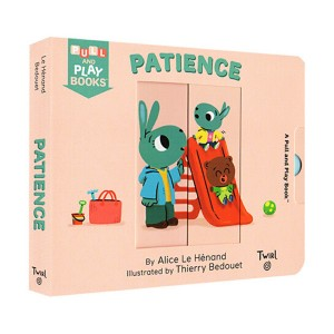 Pull and Play Books : Patience (Board book)