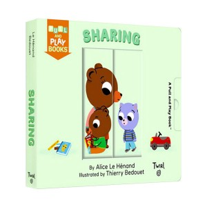 Pull and Play Books : Sharing (Board book)
