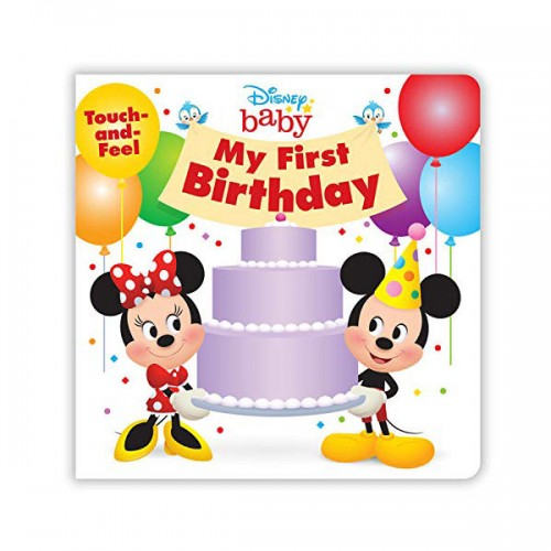Disney Baby My First Birthday (Board book)