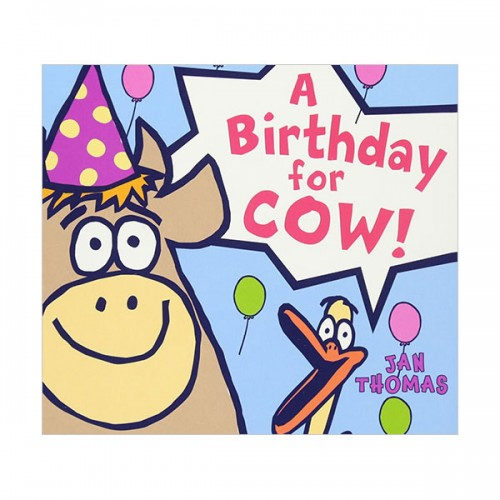 The Giggle Gang : A Birthday for Cow! (Board book)