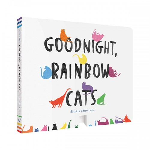 Goodnight, Rainbow Cats (Board book)