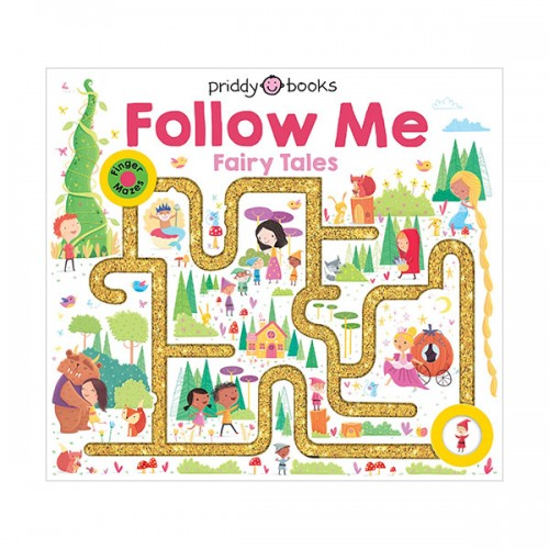 Maze Book : Follow Me Fairy Tales (Board Book)