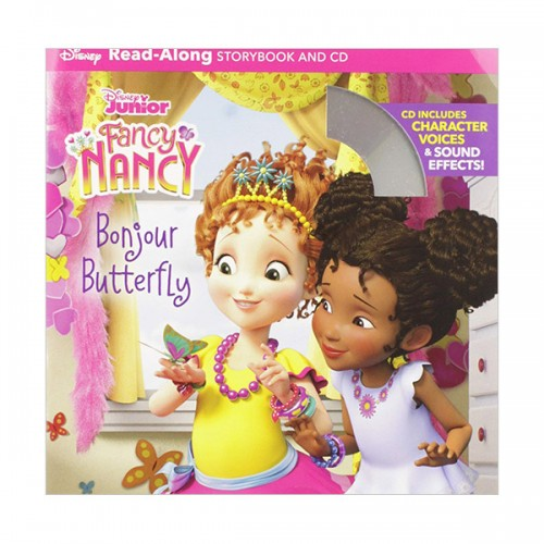 Disney Read-Along Storybook : Fancy Nancy : Bonjour Butterfly : 팬시낸시 (Book & CD)