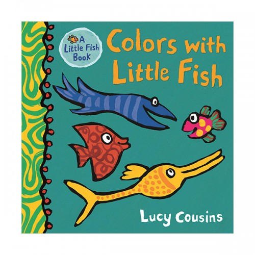 Little Fish Book : Colors with Little Fish (Board book)