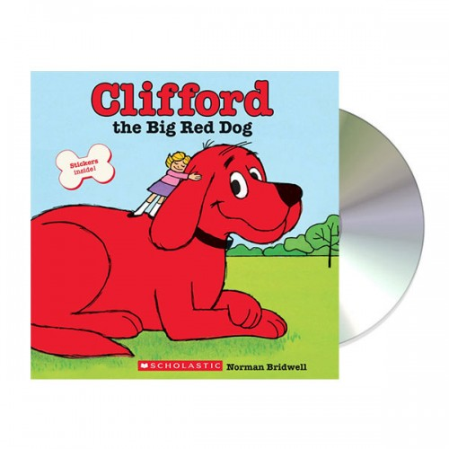 [스콜라스틱] Clifford the Big Red Dog : Scholastic Read Along Book and CD (Paperback & CD)