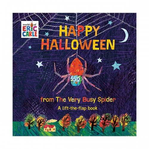 [에릭칼] Happy Halloween from The Very Busy Spider : A Lift-the-Flap Book (Board book)