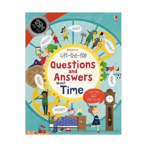 Lift-the-flap Questions and Answers about Time (Board book)(UK)