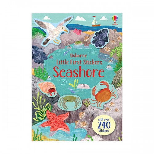 Little First Stickers Seashore (Paperback)