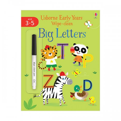 Usborne Early Years Wipe-Clean :Big Letters (Paperback, 영국판)