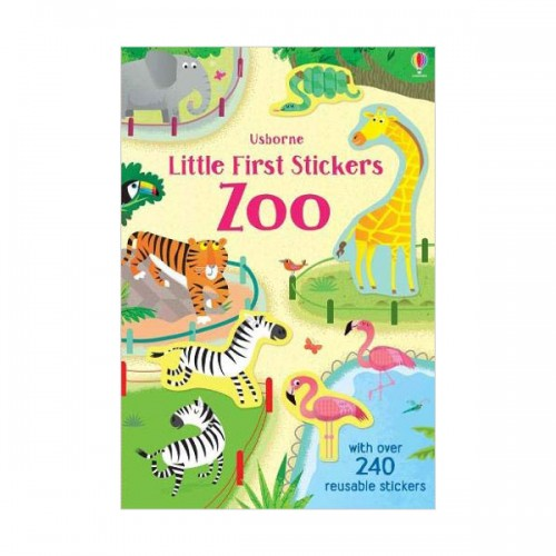 Little First Stickers Zoo (Paperback)