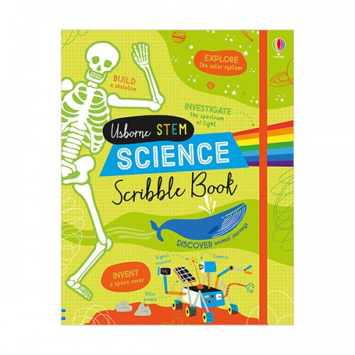 Science Scribble Book (Hardcover)(UK)