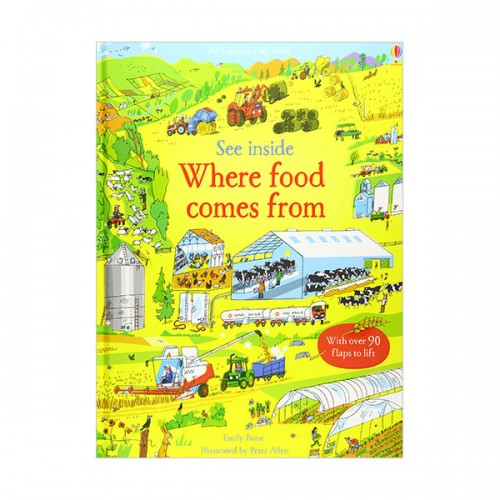 See Inside Where Food Comes from (Board book)(UK)