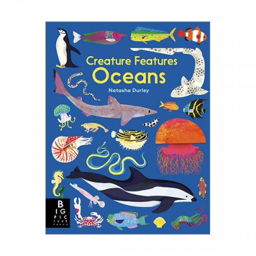 Creature Features Oceans (Hardcover, 영국판)