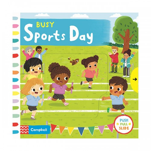 Busy Books Series : Busy Sports Day (Board book, 영국판)