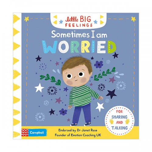 Little Big Feelings : Sometimes I Am Worried (Board book, 영국판)