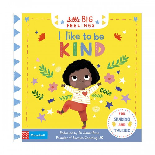 Little Big Feelings : I Like to be Kind (Board book, 영국판)