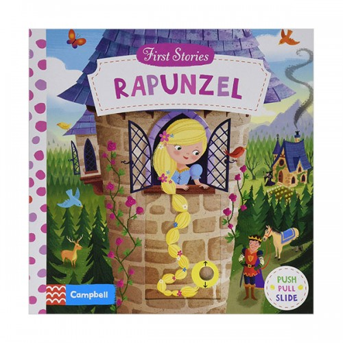 First Stories : Rapunzel (Board book, 영국판)