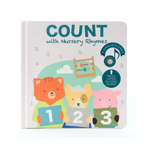 Count with Me Nursery Rhymes (Board book, Sound book)