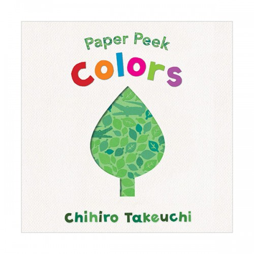 Paper Peek : Colors (Board book)
