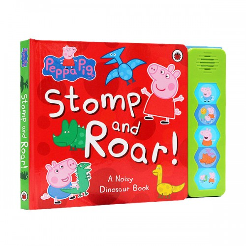 Peppa Pig : Stomp and Roar! Sound Book (Board Sound Book, 영국판)