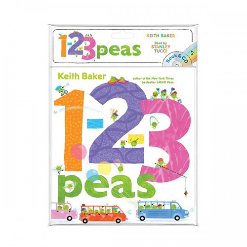 The Peas Series : 1-2-3 Peas (Book & CD)