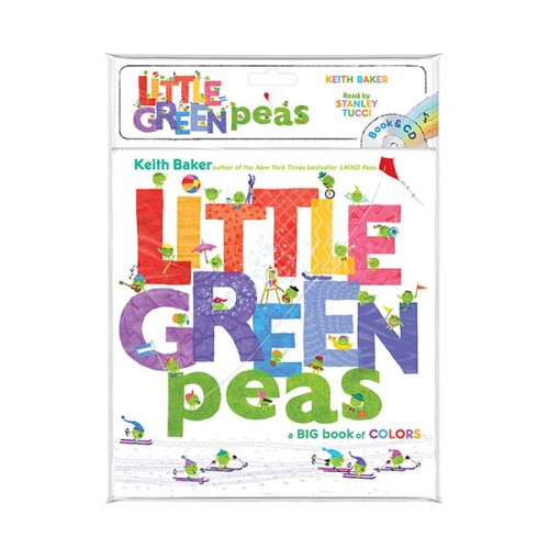 The Peas Series : Little Green Peas (Book & CD)