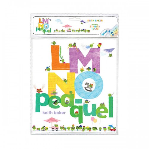 The Peas Series : LMNO Pea-quel (Book & CD)