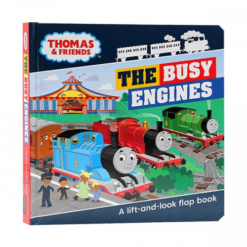 Thomas & Friends Busy Engines Lift-the-Flap Book (Hardcover, 영국판)