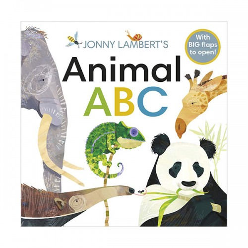 Jonny Lambert's Animal ABC (Board book, 영국판)