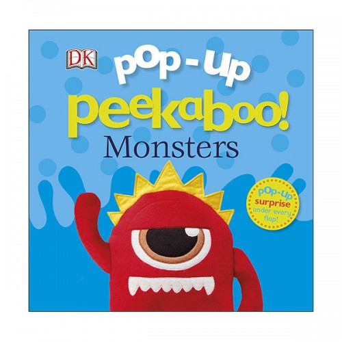 Pop Up Peekaboo! : Monsters (Board book,영국판)